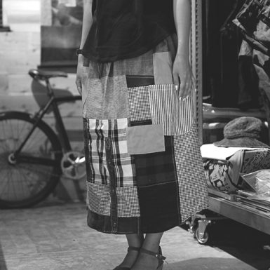 API-104BLG quilting Skirt
