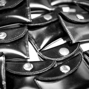 API custom Coin Case cordovan leather