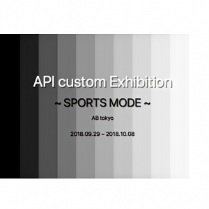 API custom Exhibition