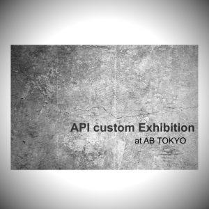 API custom exhibition 2